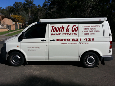 TOUCH & GO PAINT REPAIRS