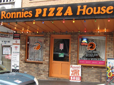 RONNIE'S PIZZA HOUSE BLACKTOWN