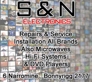 S & N ELECTRONICS - TV, Hi Fi Systems, & Small Appliance Repair & Service