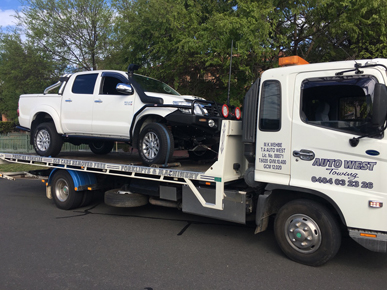 AUTO WEST TOWING