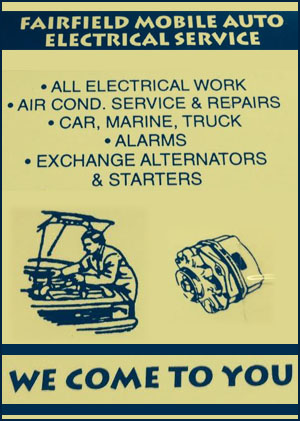 Fairfield Mobile Auto Electrical & Air Conditioning Service