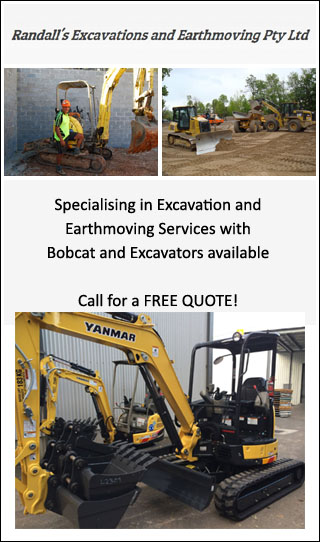 RANDALL'S EXCAVATIONS AND EARTHMOVING