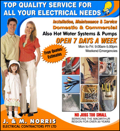 J & M Norris Electrical Services Pty Ltd