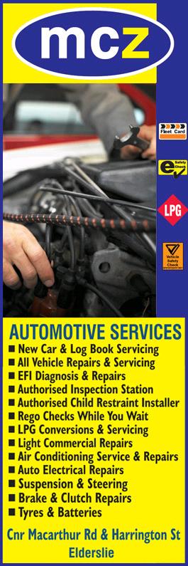 MCZ AUTOMOTIVE SERVICES
