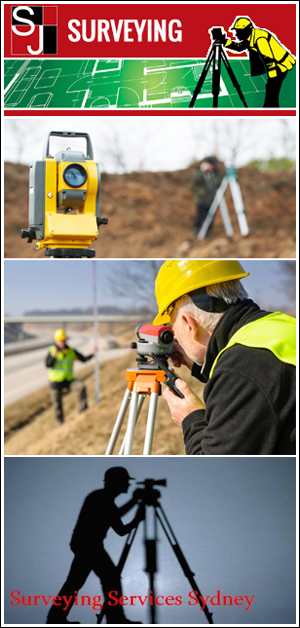 land surveyors Sydney