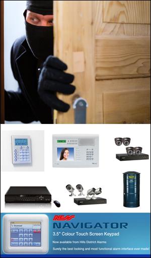 Security Alarms Hills District