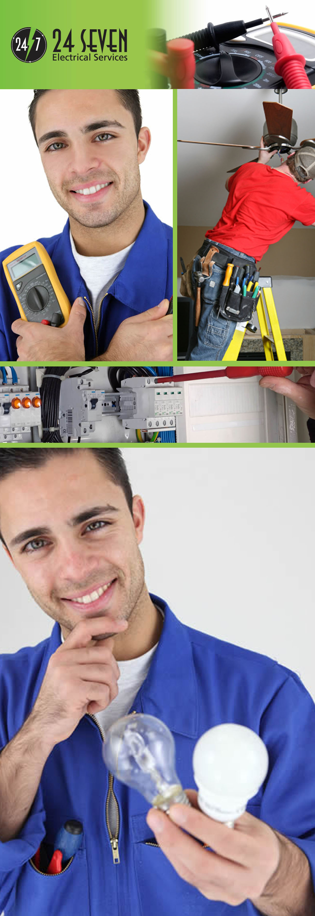24 Seven Electrical Services Lic 238869C