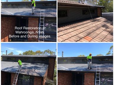 Roof Restoration Hills District