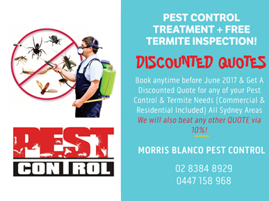 Morris Blanco Pest Control