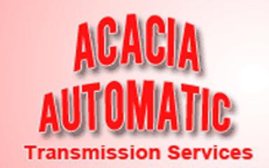 Acacia Automatic Transmission Service