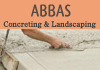 Abbas Concreting Landscaping