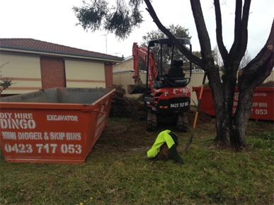 DIY Dingo, Excavators & SKIP Bins 4 HIRE