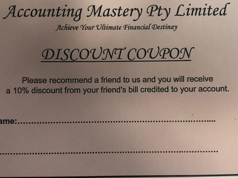 ACCOUNTING MASTERY PTY LTD