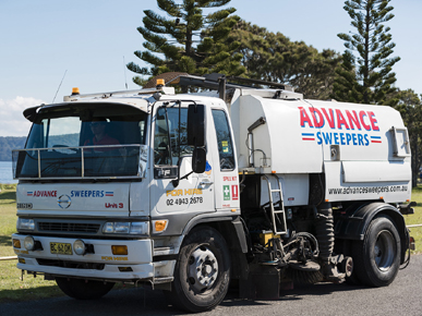 Advance Sweepers Pty Ltd - Sweeping Machines
