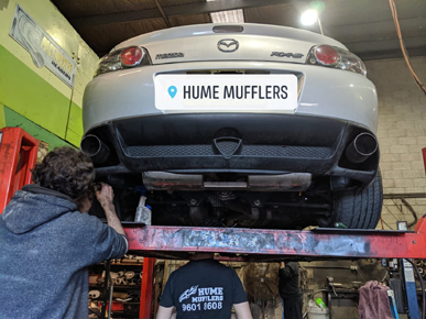 Mufflers & Exhaust Systems Liverpool Sydney