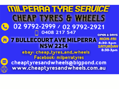 used tyres Bankstown