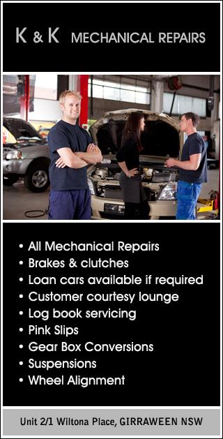 K & K MECHANICAL REPAIRS