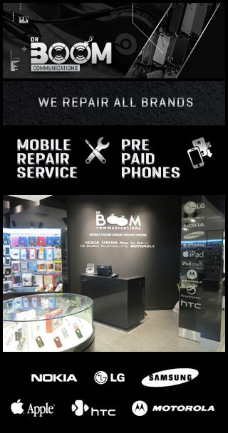 DR BOOM COMMUNICATIONS MOBILE PHONE REPAIRS