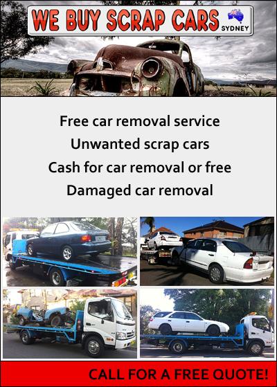 We Buy Scrap Cars Sydney