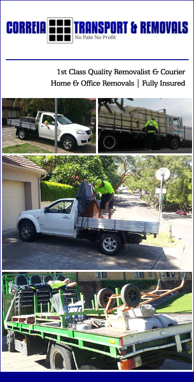 Correia Transport Removals