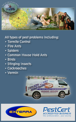 BRYCE PEST CONTROL PTY LTD