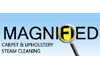 MAGNIFIED CARPET UPHOLSTERY STEAM CLEANING