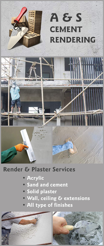 A S Cement Rendering