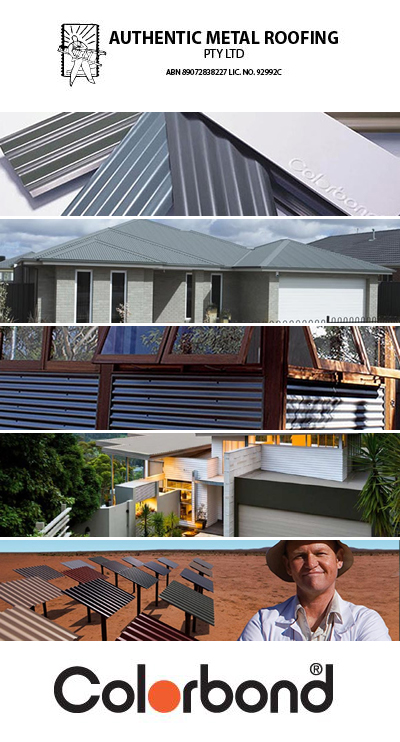 AUTHENTIC METAL ROOFING PTY LTD