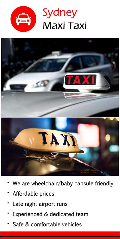 Sydney Maxi Taxi